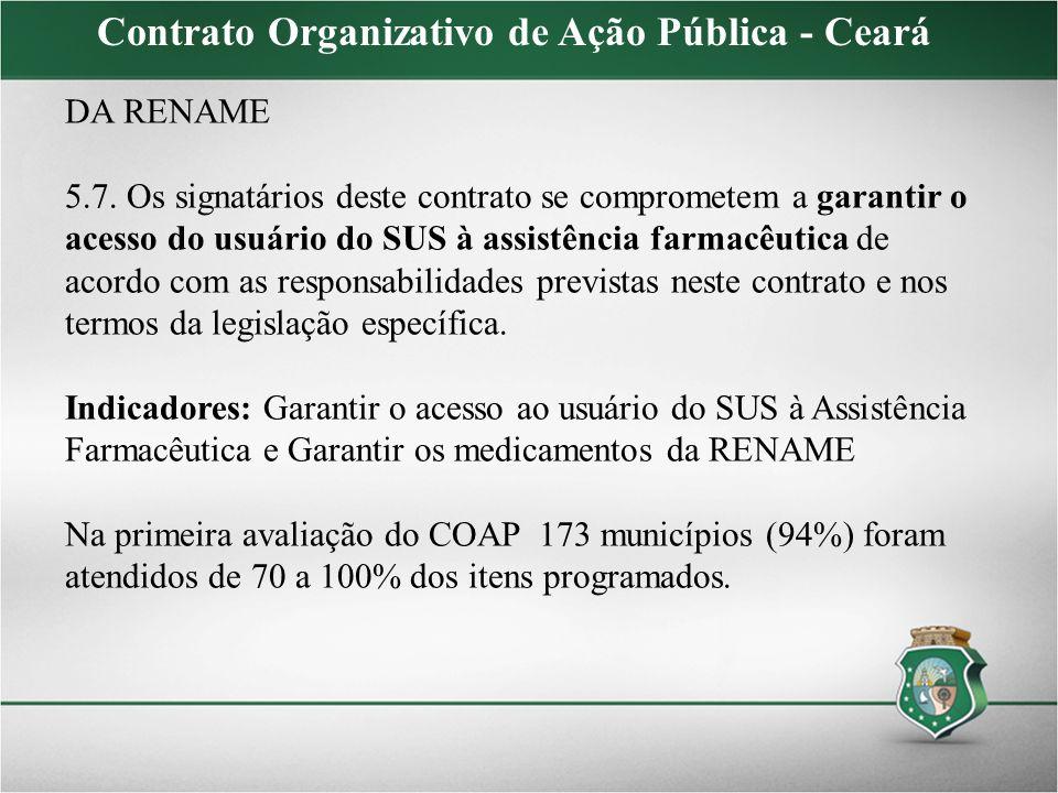Contrato Organizativo de Ação Pública - Ceará