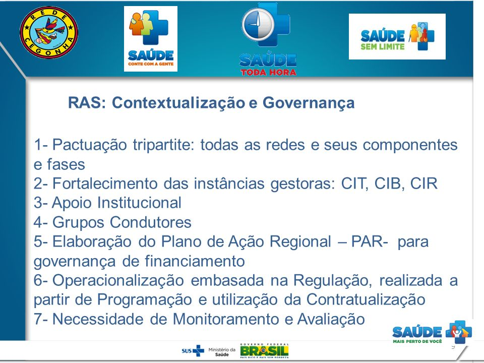 RAS: Contextualização e Governança