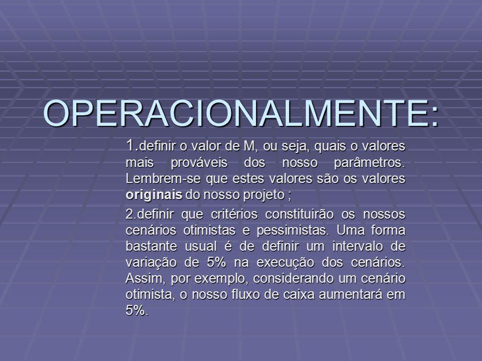 OPERACIONALMENTE: