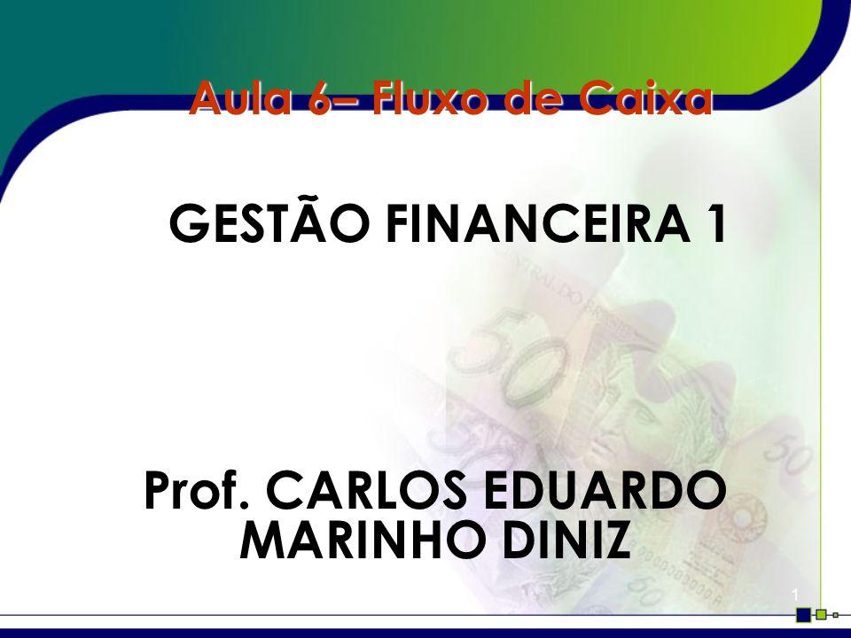 Prof. CARLOS EDUARDO MARINHO DINIZ
