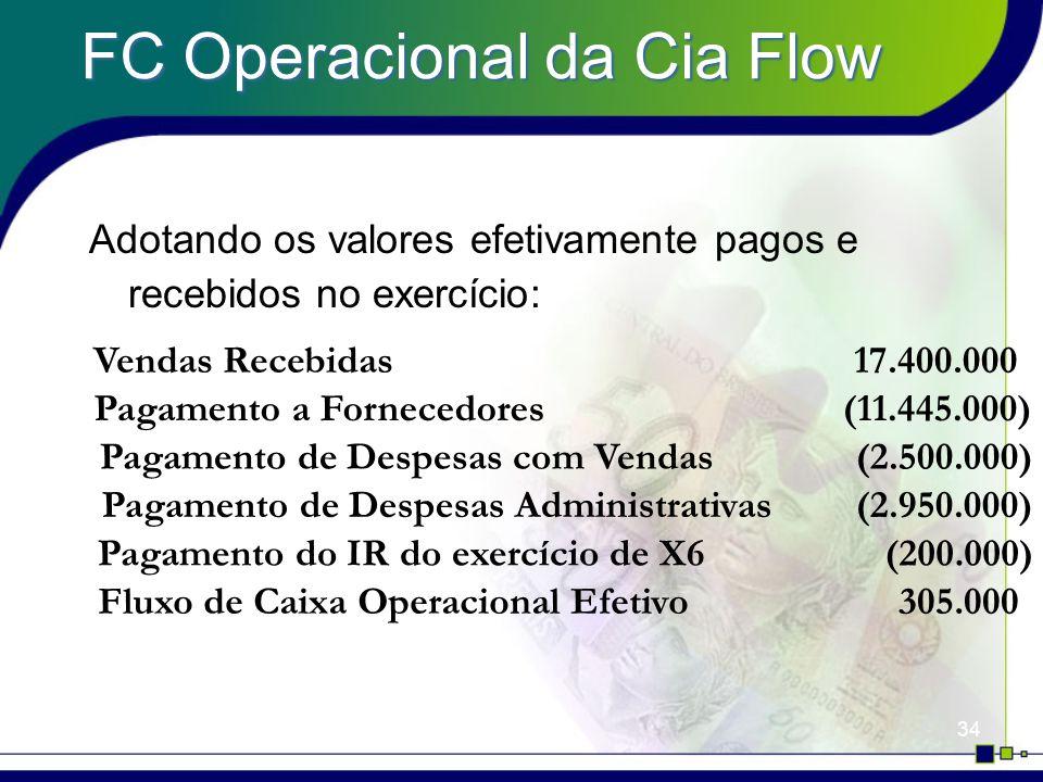 FC Operacional da Cia Flow