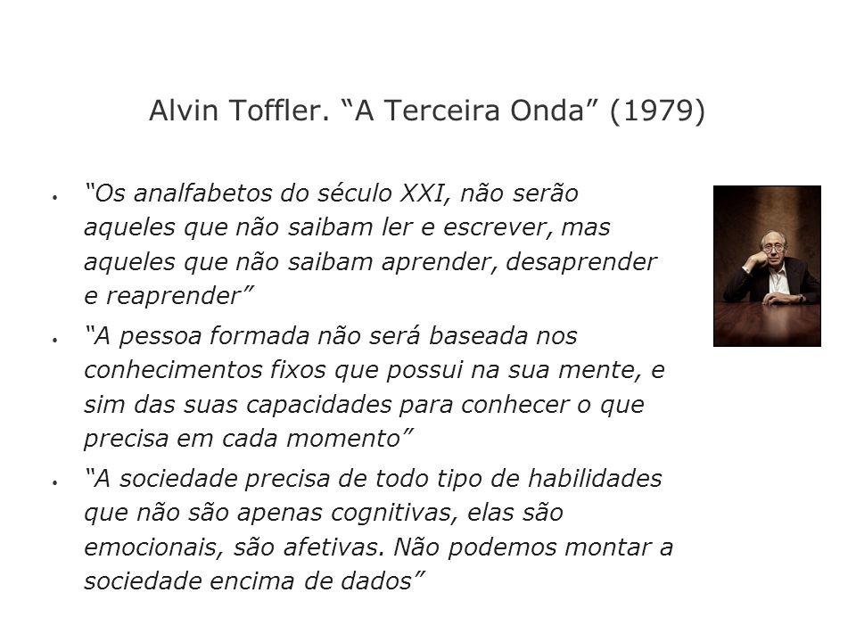 Alvin Toffler. A Terceira Onda (1979)