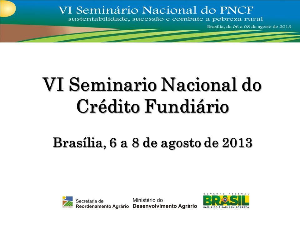 VI Seminario Nacional do Crédito Fundiário
