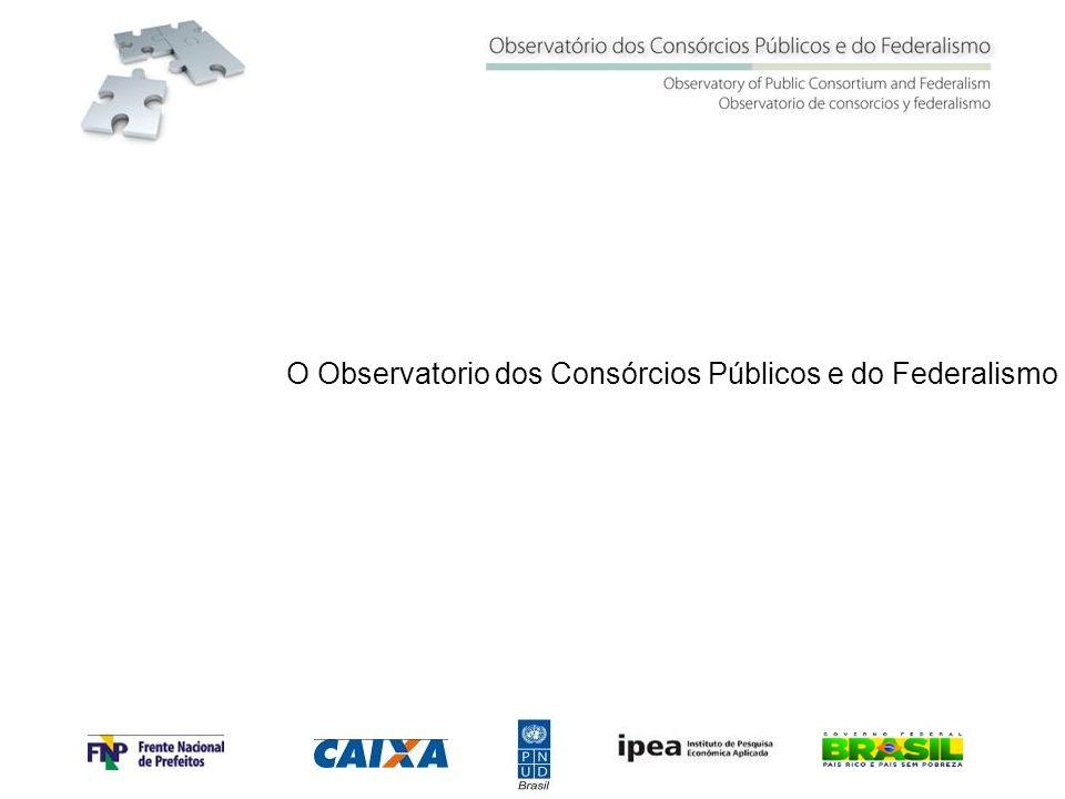 O Observatorio dos Consórcios Públicos e do Federalismo