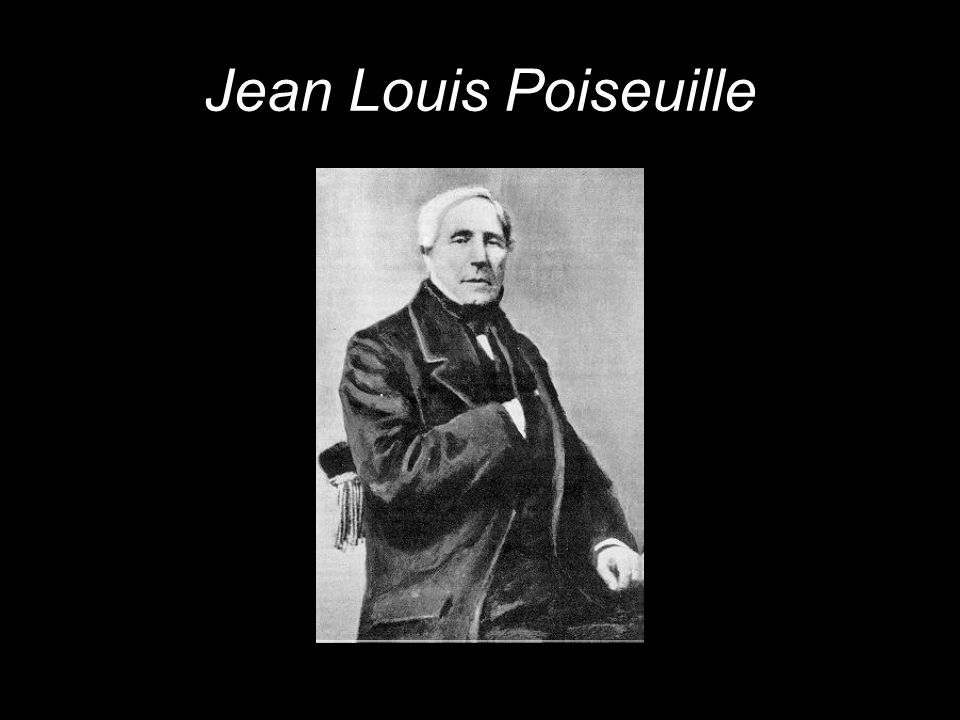 Jean Louis Poiseuille