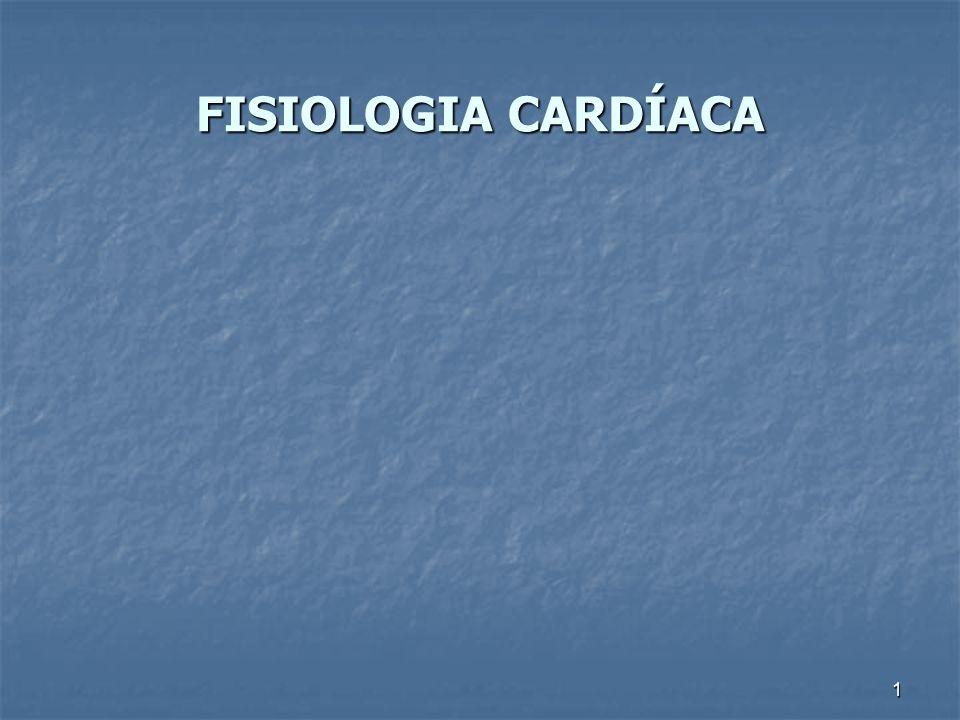 FISIOLOGIA CARDÍACA 1