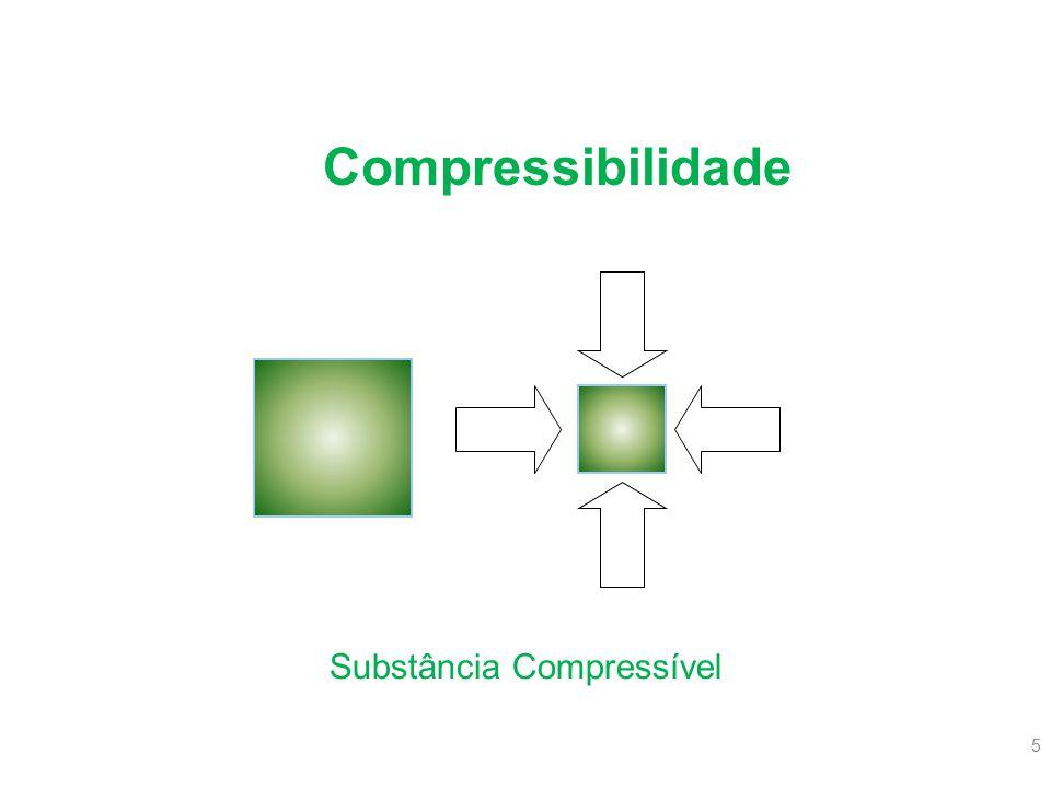 Substância Compressível