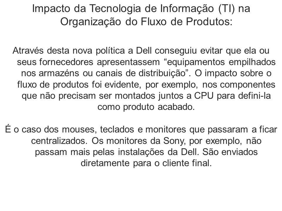 Impacto da Tecnologia de Informação (TI) na Organização do Fluxo de Produtos: