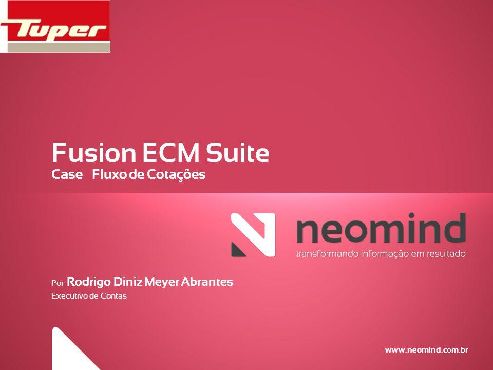 Fusion ECM Suite Case – Fluxo de Cotações