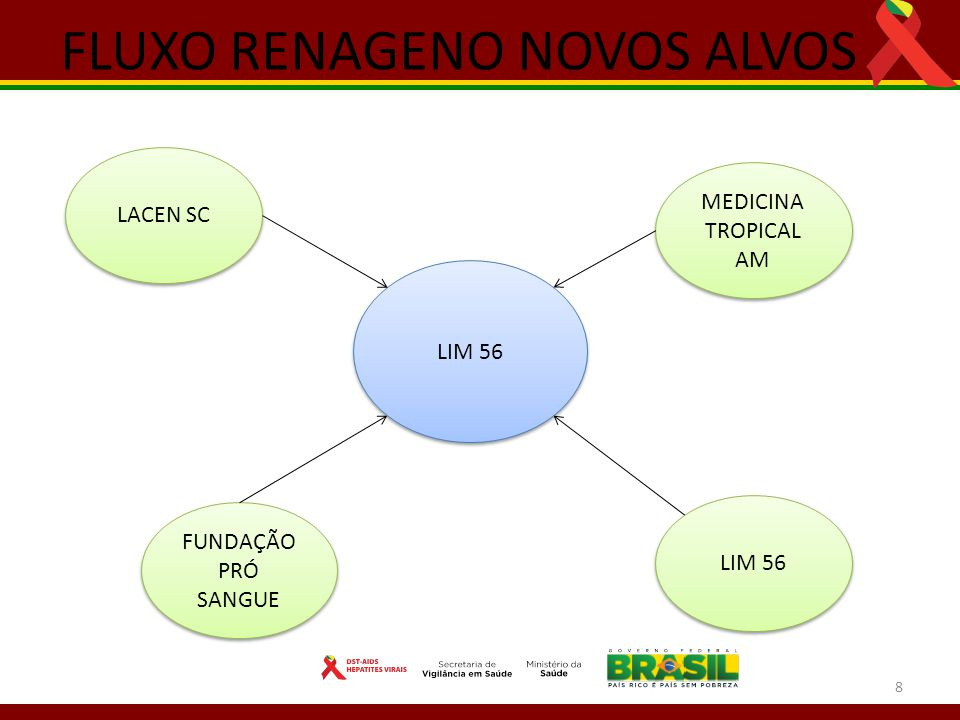 FLUXO RENAGENO NOVOS ALVOS