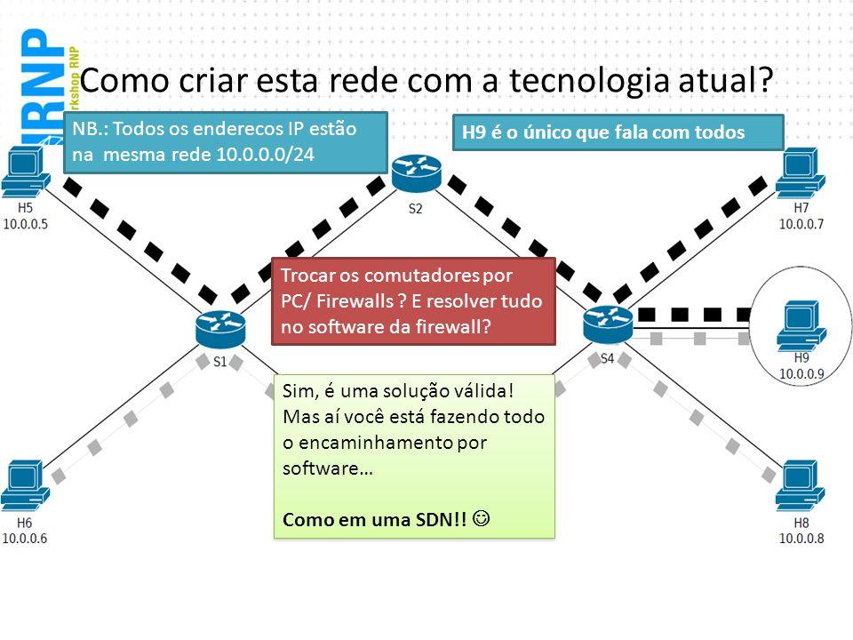 Como criar esta rede com a tecnologia atual
