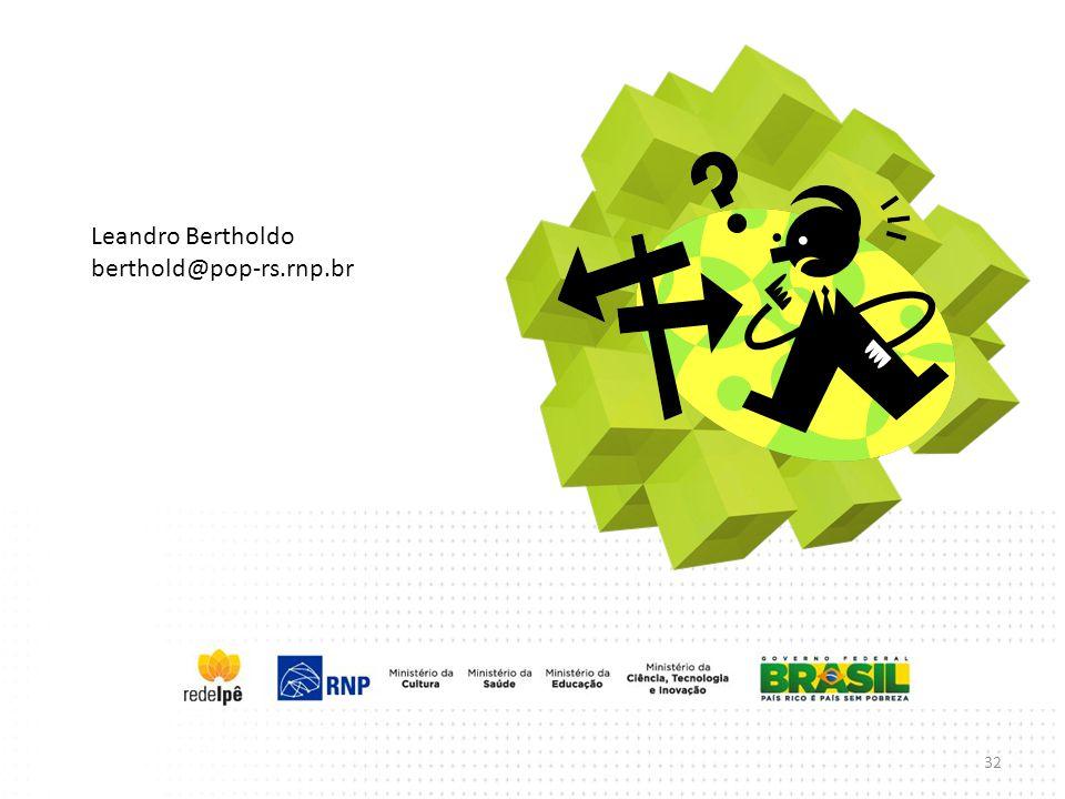 Leandro Bertholdo berthold@pop-rs.rnp.br