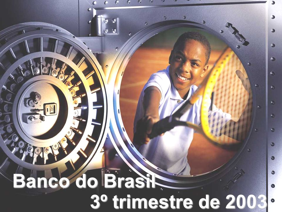 Banco do Brasil 3º trimestre de 2003