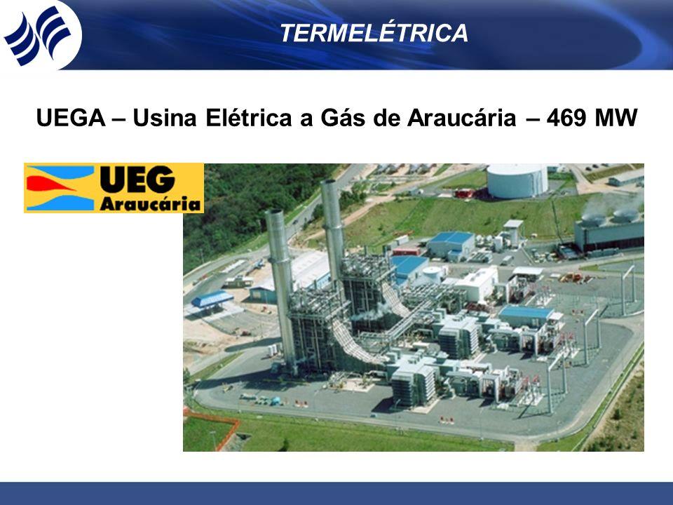 UEGA – Usina Elétrica a Gás de Araucária – 469 MW
