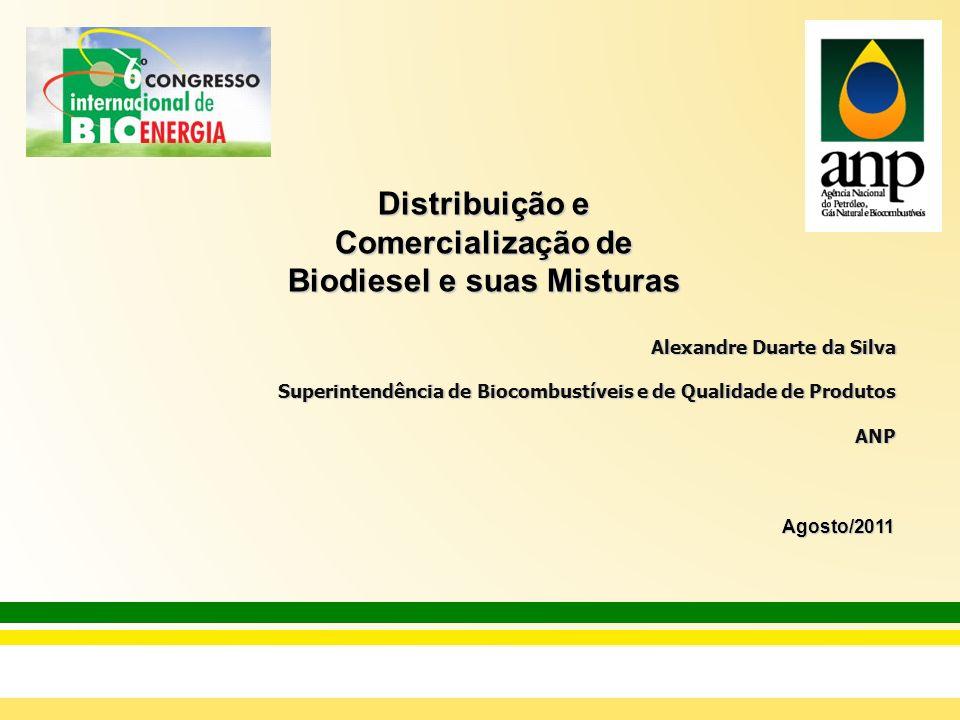 Distribuição e Comercialização de Biodiesel e suas Misturas