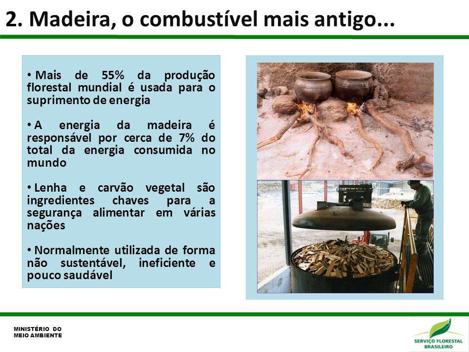 2. Madeira, o combustível mais antigo...