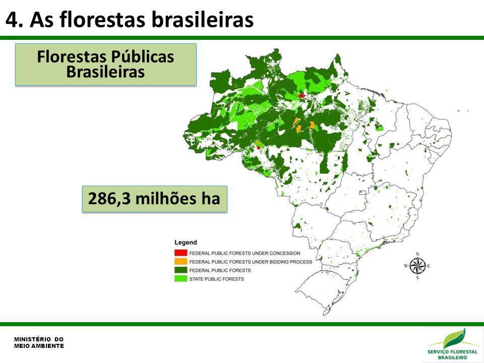 Florestas Públicas Brasileiras