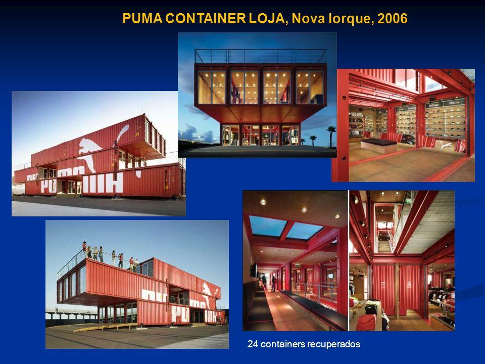 PUMA CONTAINER LOJA, Nova Iorque, 2006