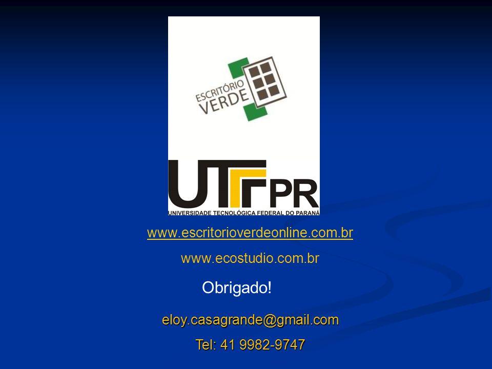 Obrigado! www.escritorioverdeonline.com.br www.ecostudio.com.br