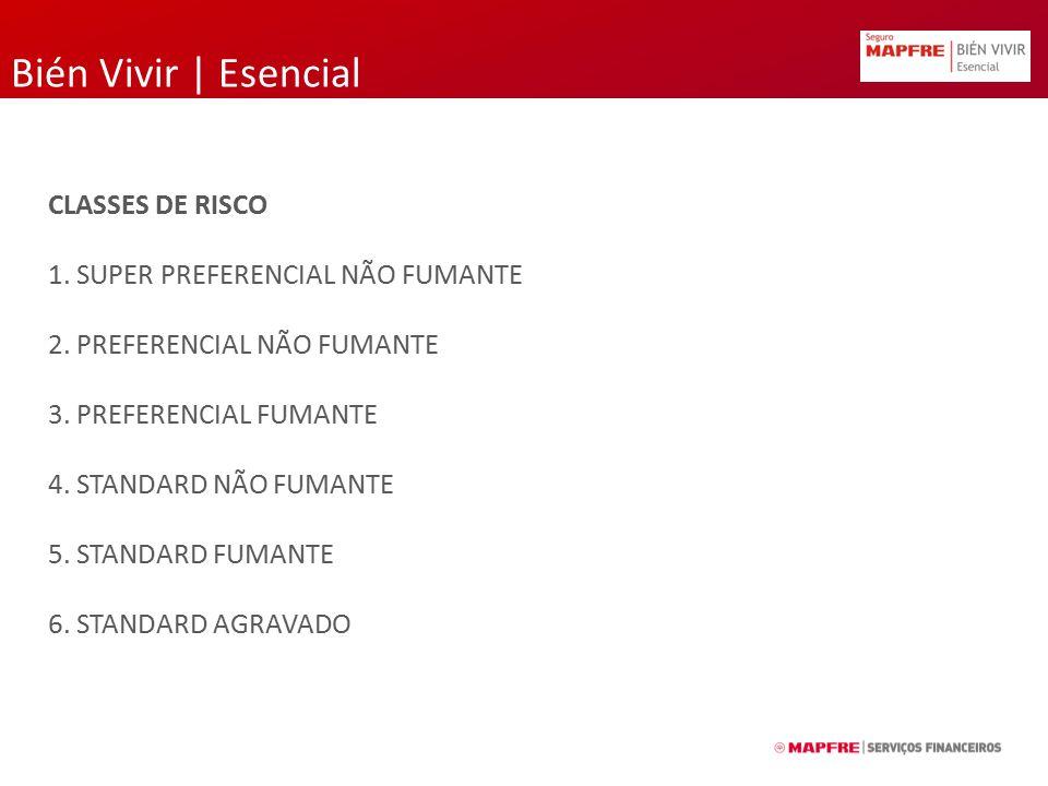 Bién Vivir | Esencial CLASSES DE RISCO