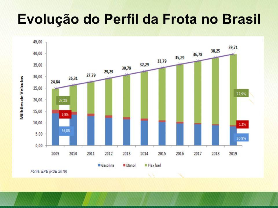 Evolução do Perfil da Frota no Brasil