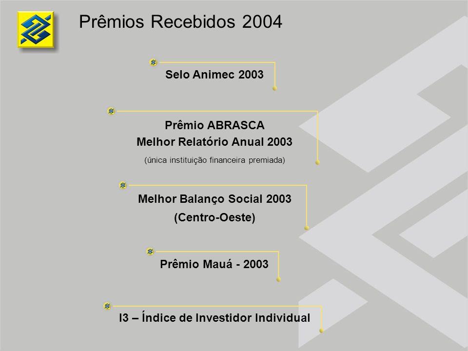 Melhor Relatório Anual 2003 I3 – Índice de Investidor Individual