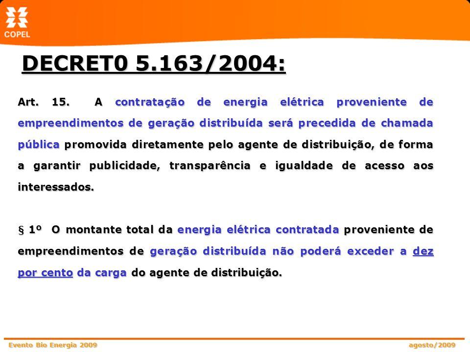 DECRET0 5.163/2004: