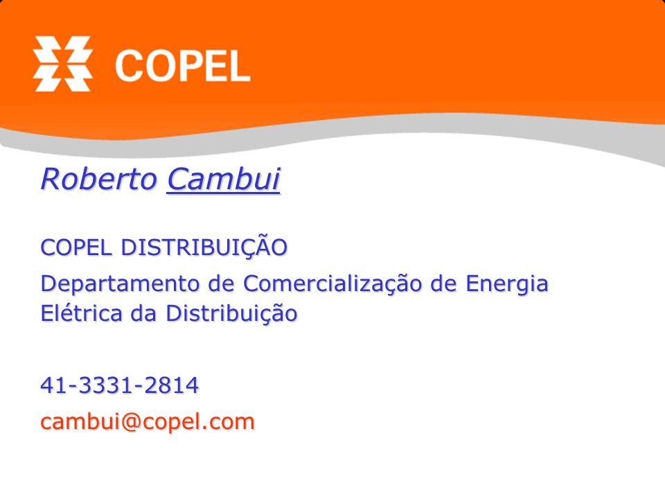 Roberto Cambui COPEL DISTRIBUIÇÃO
