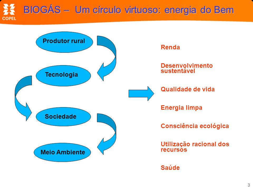BIOGÁS – Um círculo virtuoso: energia do Bem