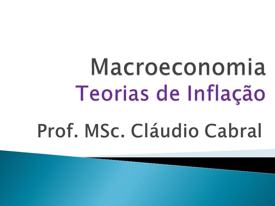 Macroeconomia Teorias de Inflação