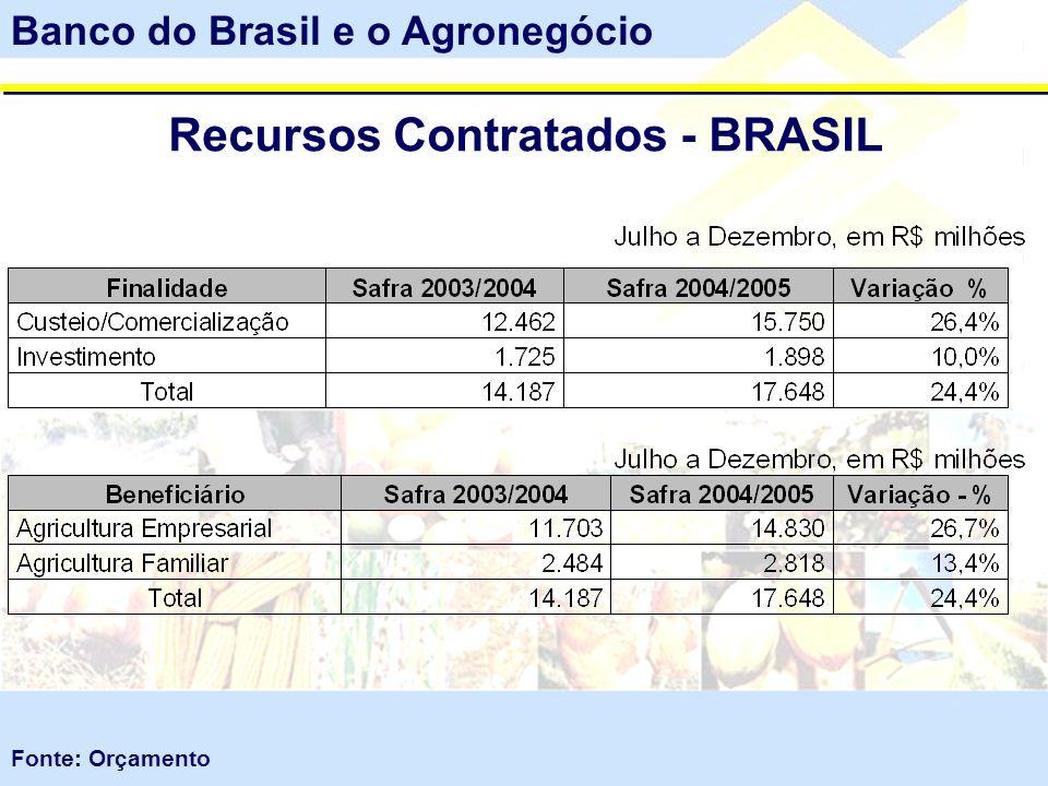 Recursos Contratados - BRASIL