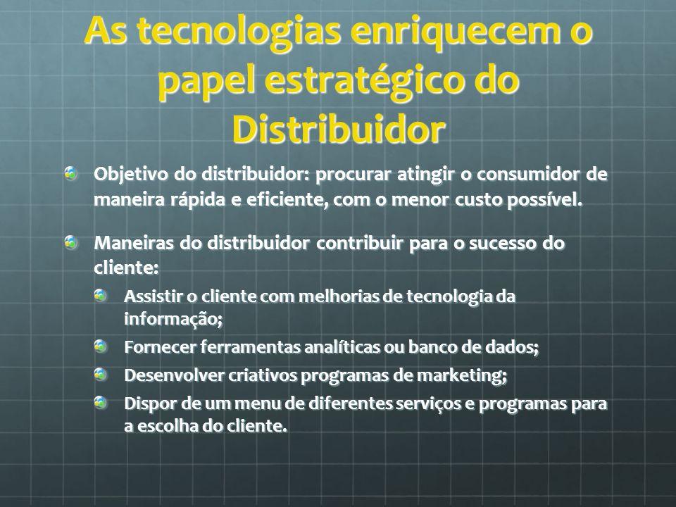 As tecnologias enriquecem o papel estratégico do Distribuidor