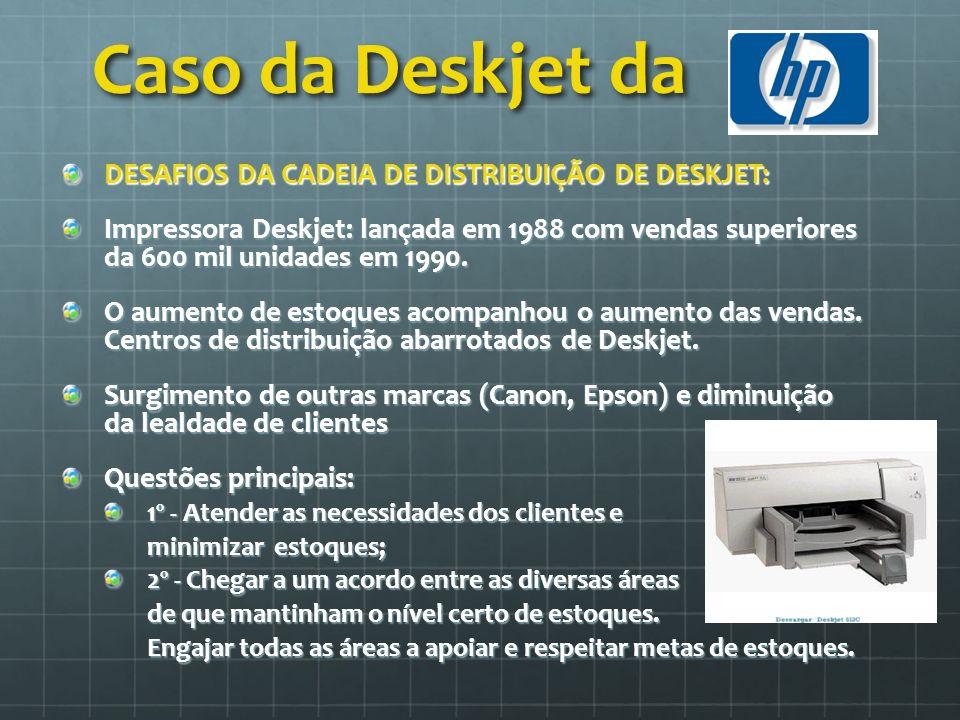 Caso da Deskjet da DESAFIOS DA CADEIA DE DISTRIBUIÇÃO DE DESKJET: