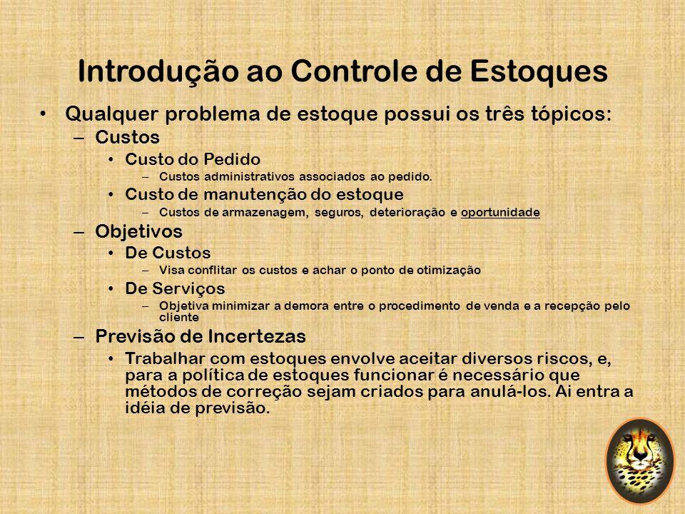 Introdução ao Controle de Estoques