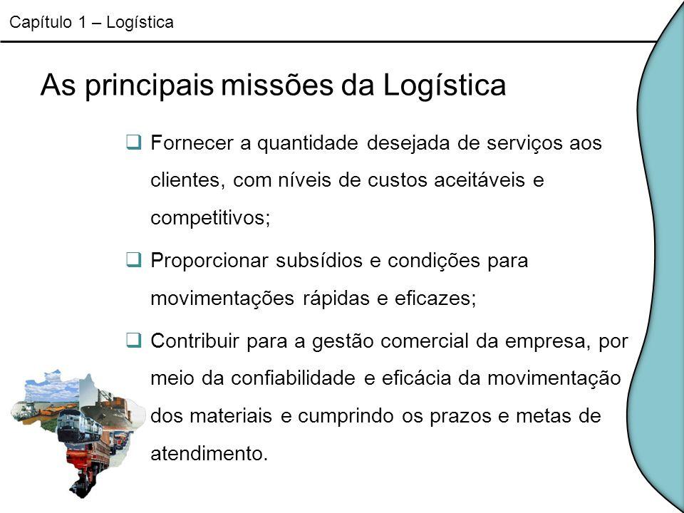 As principais missões da Logística