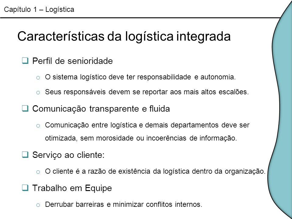 Características da logística integrada