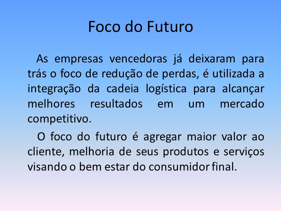 Foco do Futuro