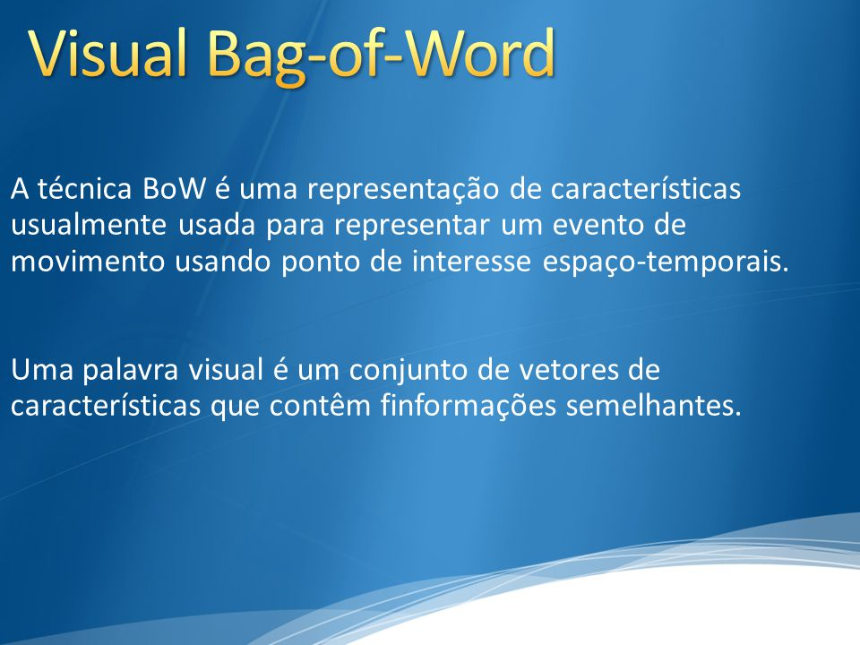 Visual Bag-of-Word