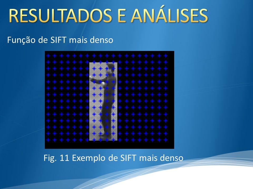 Função de SIFT mais denso