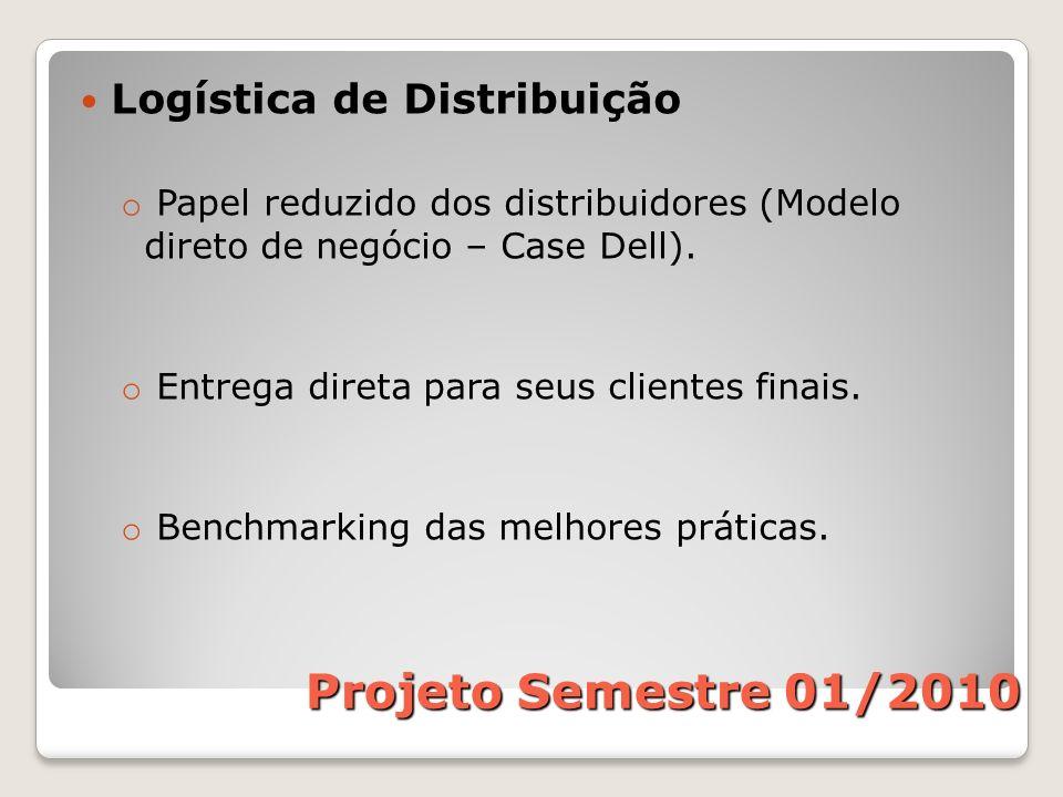 Projeto Semestre 01/2010 Logística de Distribuição
