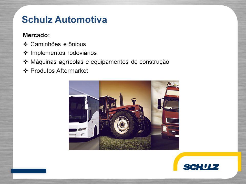 Schulz Automotiva Mercado: Caminhões e ônibus Implementos rodoviários