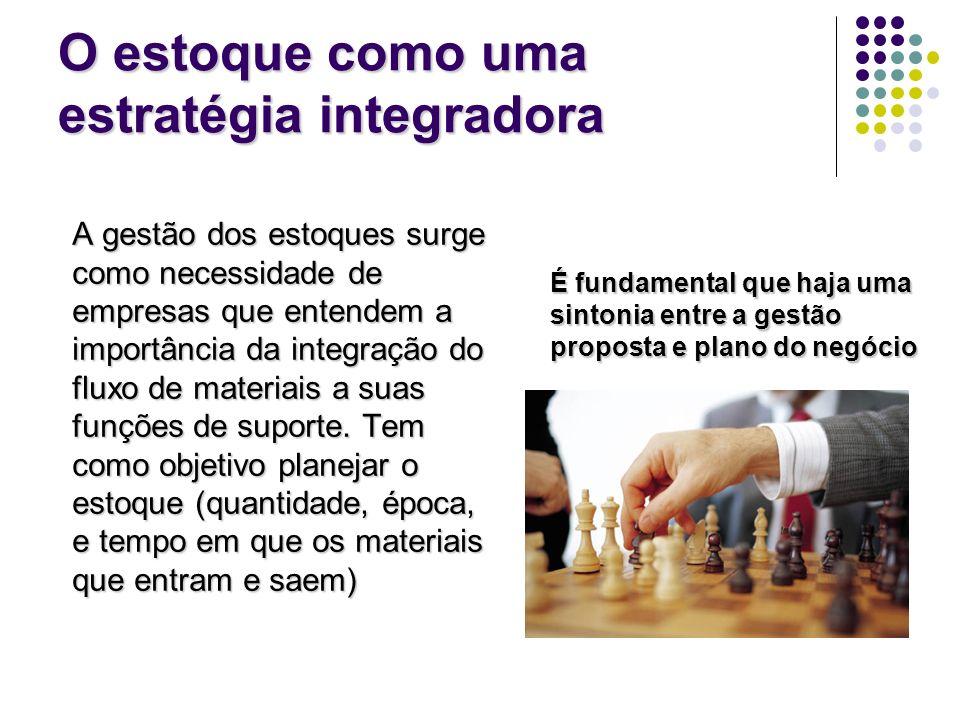 O estoque como uma estratégia integradora