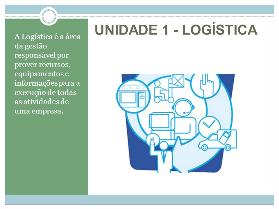 UNIDADE 1 - LOGÍSTICA