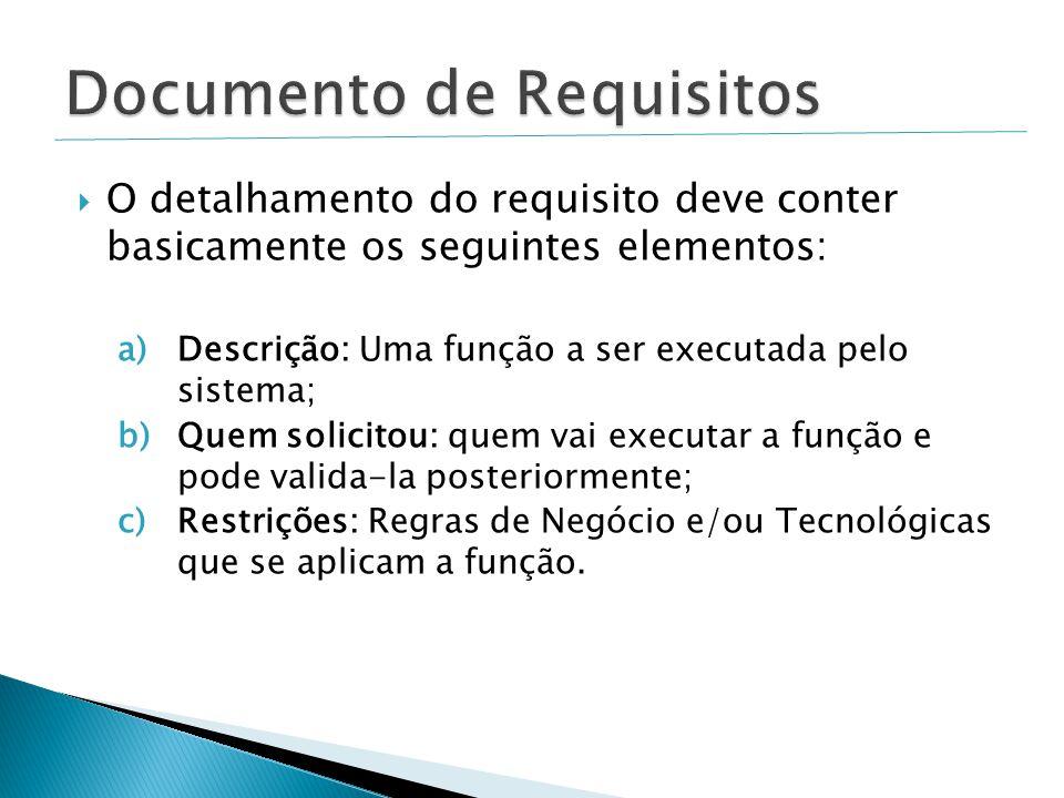 Documento de Requisitos