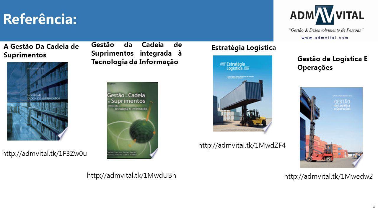 Referência: Gestão da Cadeia de Suprimentos integrada à Tecnologia da Informação. A Gestão Da Cadeia de Suprimentos.