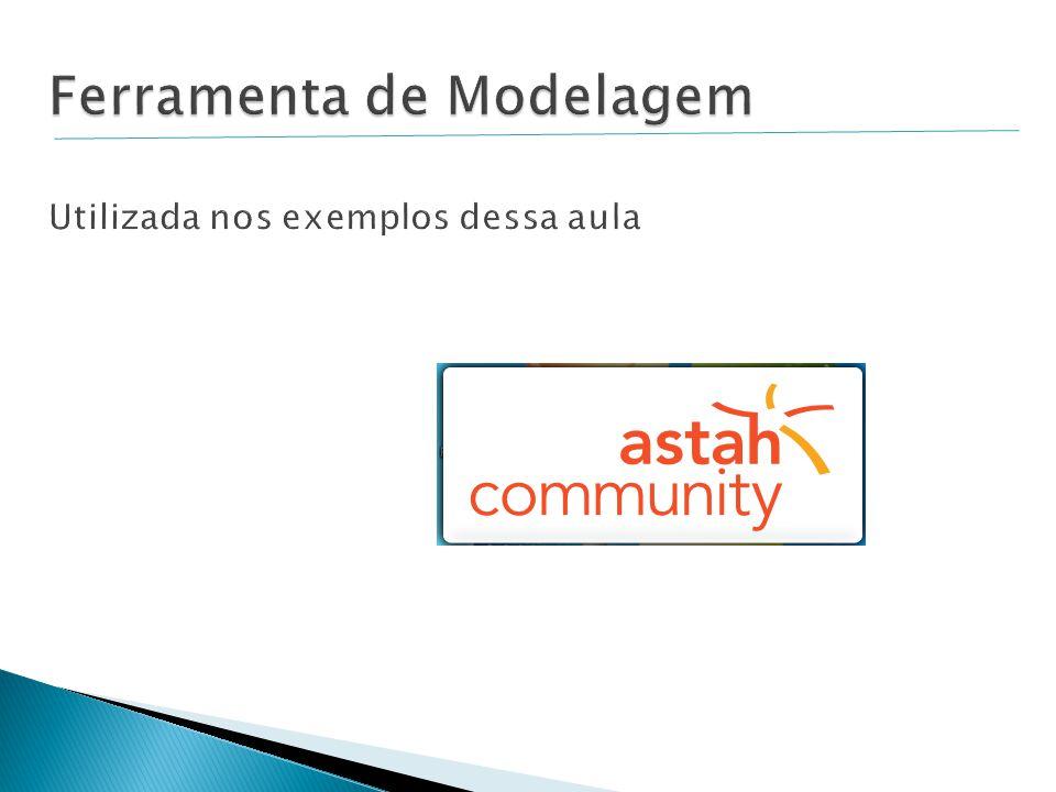 Ferramenta de Modelagem Utilizada nos exemplos dessa aula