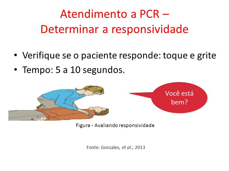 Atendimento a PCR – Determinar a responsividade