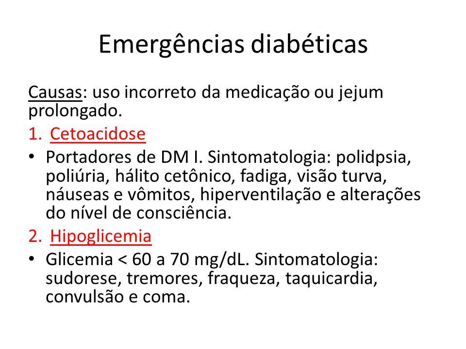 Emergências diabéticas