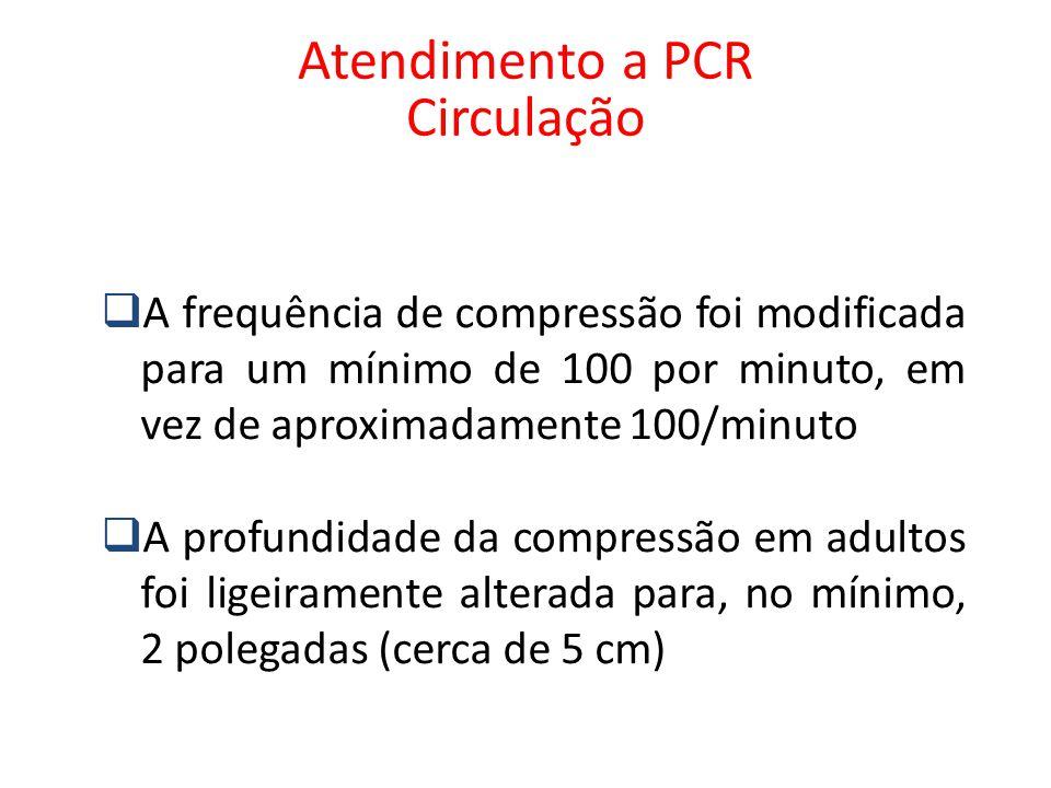 Atendimento a PCR Circulação