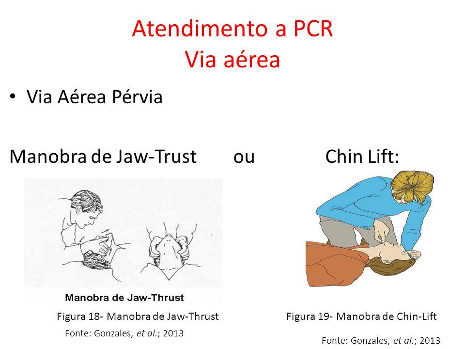 Atendimento a PCR Via aérea